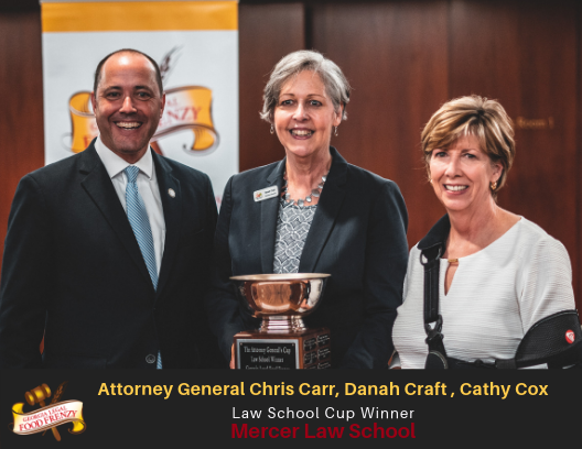 A GChris Carr, Danah Craft (GFBA), Cathy Cox, Dean, Walter F. Georgia School of Law at Mercer University